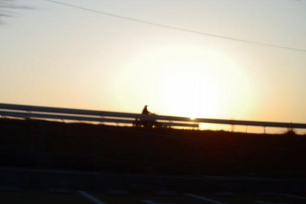 夕陽の中の廃墟ハンター.jpg
